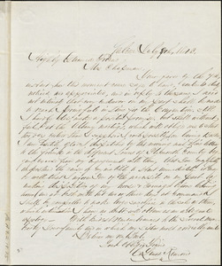 Letter from Charles Lenox Remond, Salem, [Massachusetts], to Maria Weston Chapman, 1843 July 8