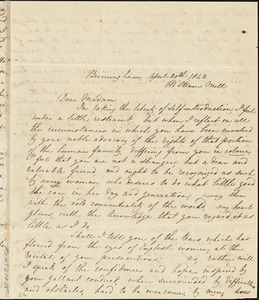 Letter fmor C.S. Toll, Birmingham, [England], to Maria Weston Chapman, [1842 April 23]