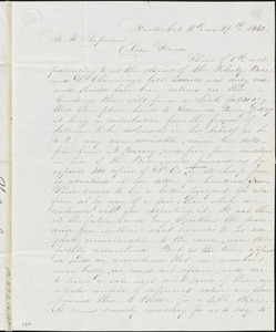 Letter from C. Austin Joy, Nantucket, [Massachusetts], to Maria Weston, 1842 Nov[ember] 29
