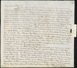 Letter from Elizabeth Pease Nichol, Darlington, [England], to Maria Weston Chapman, 1844 [July 15]