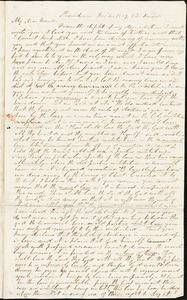 Letter from Ray Potter, Providence, [Rhode Island], to William Lloyd Garrison, 1837 Dec[ember] 4