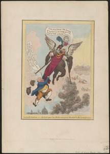Le diable-boiteux - or - the Devil upon two sticks conveying John Bull to the land of promise