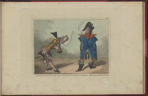A French gentleman of the court of Louis XVIth. A French gentleman of the court of Égalité 1799