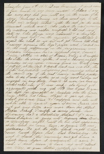 Letter to her mother [Isabel] from Alice, Lincoln, January-February 1873