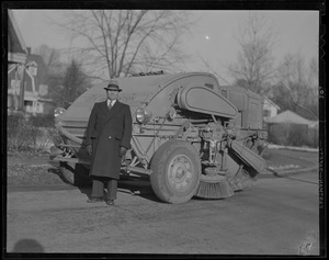 Street cleaning, City of Newton