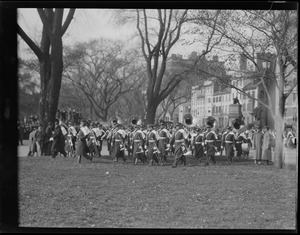 West Point band on Boston Common