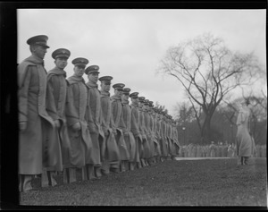 West Point cadets on Boston Common