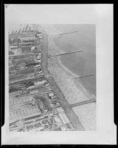 Coney Island from the air