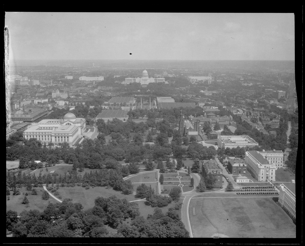 View toward U.S. Capitol from Washington Monument