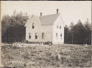 Clinton Sewerage, A. E. McLean's house (back), on the west side of High Street, from the north, Lancaster, Mass., Nov. 7, 1898