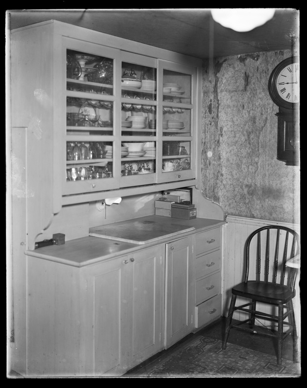 Sudbury Department, Ashland Dam, kitchen interior of department house?, Ashland?, Mass., ca. 1927