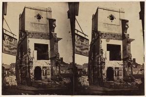 Brattle St. Church while being razed