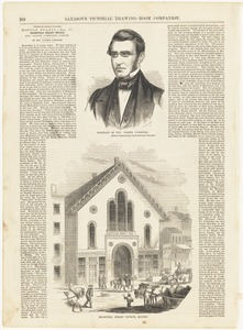 Portrait of Rev. Joseph Cummings ; Bromfield Street Church, Boston