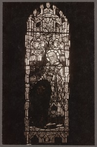 Church of the Advent, Beacon Hill. Clerestory window by Christopher Whall. Installed 1910