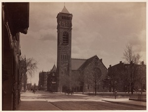 Brattle Street Church, afterwards First Baptist Church. Commonwealth Avenue and Clarendon Street