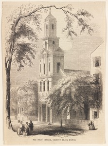 The First Church, Chauncy Place, Boston