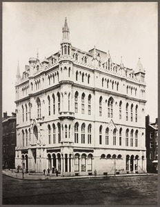 Massachusetts. Boston. Masonic Temple. 1875.