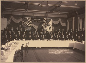Second Mass. Infantry Club, Hooker Day. American House, June 25, 1903, Boston