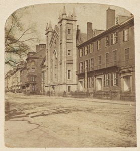 Old Masonic Temple and Tremont St.