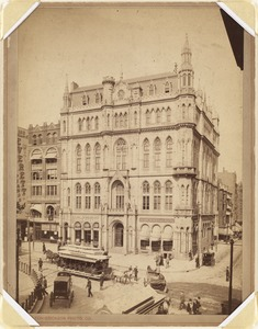 Masonic Temple, corner of Tremont and Boylston Street