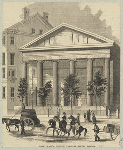 Saint Paul's Church, Tremont Street, Boston