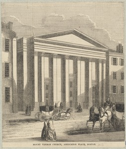 Mount Vernon Church, Ashburton Place, Boston