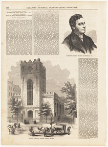 Right Rev. Bishop Manton Eastburn, D. D. ; Trinity Church, Summer Street, Boston