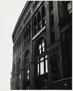 Angular view of architectural design of the three floors - Shepley, Rutan, and Coolidge Ames store