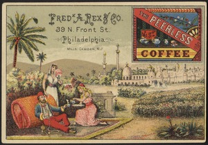 Fred K A. Rex & Co. The Peerless Coffee