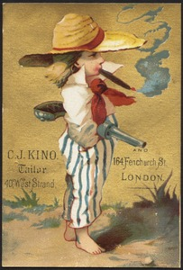 C. J. Kino. Tailor, 40 West Strand and 164 Fenchurch St., London