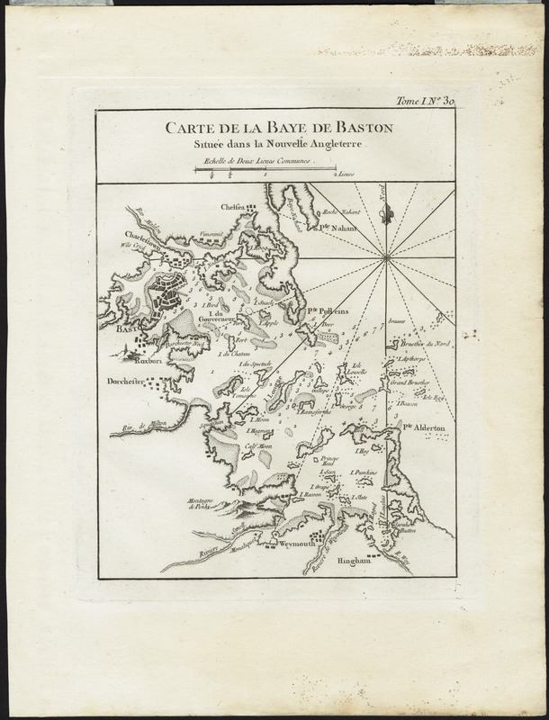 Carte de la Baye de Baston