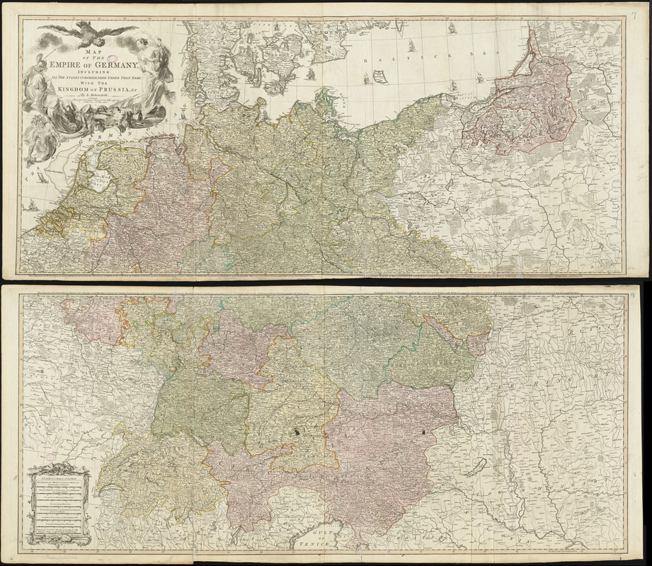 Map of the Empire of Germany