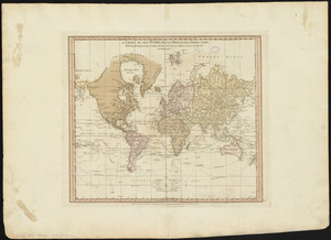 A chart of the world upon Mercator's projection