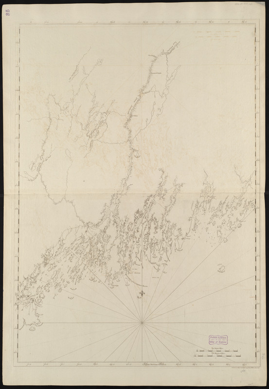 Coast of Maine from Mosquito Head to Spurwink River