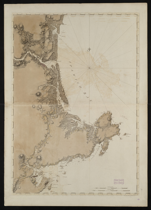 Coast of New Hampshire and Massachusetts from Great Boars Head to Marblehead Harbor