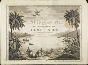 The West Indian atlas [frontispiece]