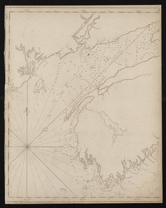 Chart of the Bay of Fundy from Machias Bay to 64°35' west longitude