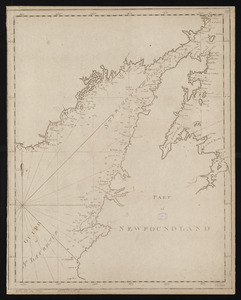 Chart of the Streights of Belle Isle