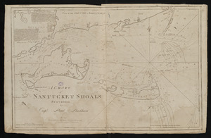 A chart of Nantucket Shoals