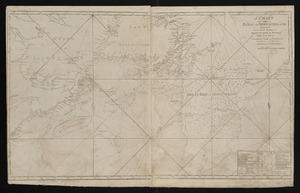 A chart of the Banks of Newfoundland, drawn from a great number of hydrographical surveys, chiefly from those of Chabert, Cook and Fleurieu, connected and ascertained by astronomical observations