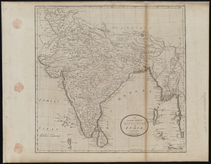 An accurate map of Hindostan or India, from the best authorities