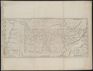 A map of the Tennassee state formerly part of North Carolina taken chiefly from surveys by Genl. D. Smith & others