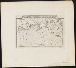 A map of the discoveries made by Capts. Cook & Clerke in the years 1778 & 1779 between the eastern coast of Asia and the western coast of North America, when they attempted to navigate the North Sea