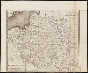 Poland, shewing the claims of Russia, Prussia & Austria, until the late depredations, the extent of which cannot as yet be ascertained