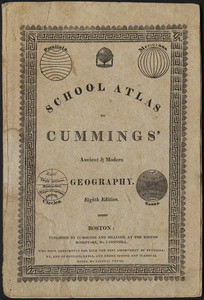 School atlas to Cummings' ancient & modern geography [cover]