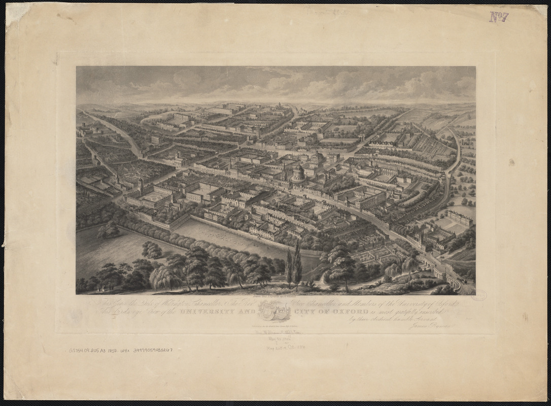 University and city of Oxford
