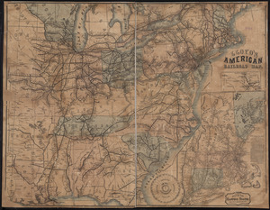 Lloyd's American railroad map