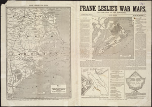 Frank Leslie's war maps and companion to the newspaper [pages 8 and 1]