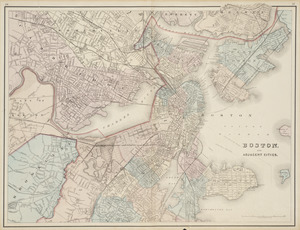Boston and adjacent cities