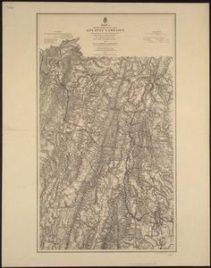 Map[s] illustrating the military operations of the Atlanta campaign ... 1864